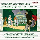 Four Decades of Light Music 1: 1920s & 1930s