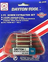 5 Pc Screw Extractor Set - Dayton