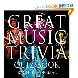 Great Music Trivia Quiz Book Rachel Federman