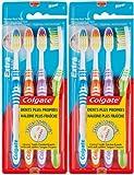 Colgate - Brosse à Dents Extra Clean - Souple - Lot de 2