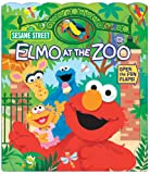 img - for Sesame Street Elmo at the Zoo (Open Door Book) book / textbook / text book