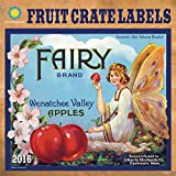 img - for Fruit Crate Labels 2016 Wall Calendar book / textbook / text book