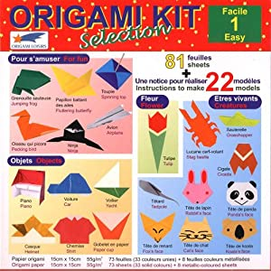 origami paper origami kit selection 1 easy