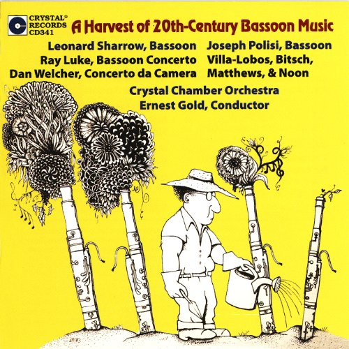 Buy A Harvest of 20th Century Bassoon Music From amazon