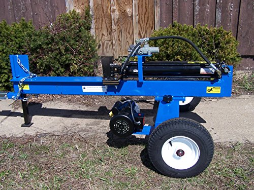 Horizontal 20 Ton Log Splitter With A 3Hp Electric Motor