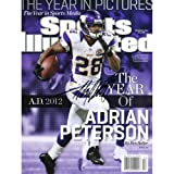 Adrian Peterson Minnesota Vikings Autographed 2012 All Day Sports Illustrated Magazine - Mounted Memories Certified at Amazon.com