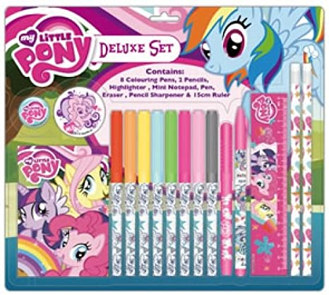 My Little Pony Deluxe Character Stationery Set