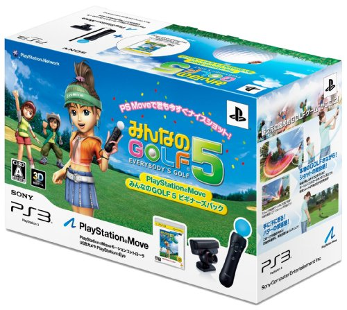 Minna No Golf 5 (Playstation Move Beginner'S Pack) [Japan Import] front-745179