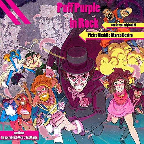 Puff Purple in Rock