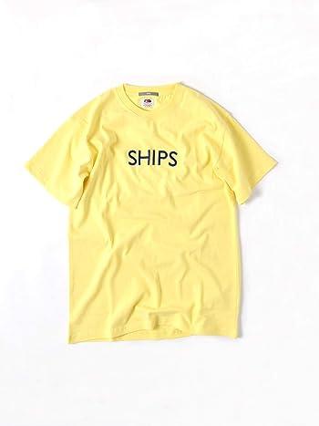 [シップス] Tシャツ 半袖 SHIPS ロゴT メンズ