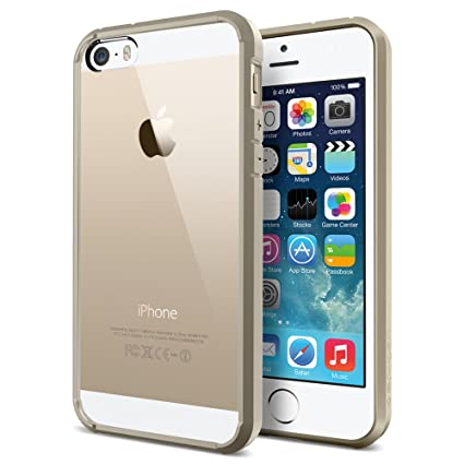 Clear Cases For Iphone 5s Gold Iphone 5s Case Spigen® Air