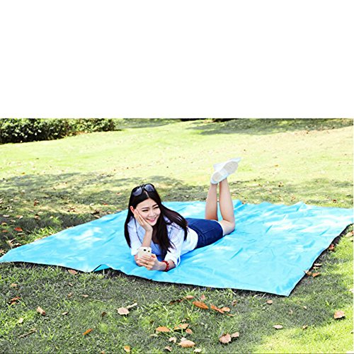 Family Beach Blanket: Fivebop Waterproof Outdoor Blanket, Large Picnic Blanket