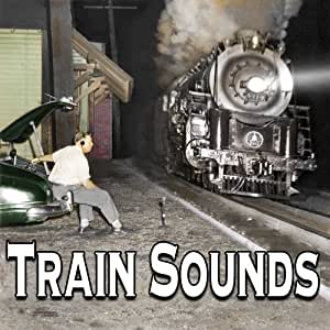 Train Sounds - Vintage Background Ambiance for O-Scale Model Railroads (Audio CD)