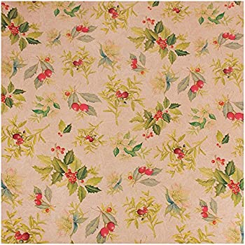 JAM Wrapping Paper, 180 Square Feet - Antique Christmas (Set of 4)