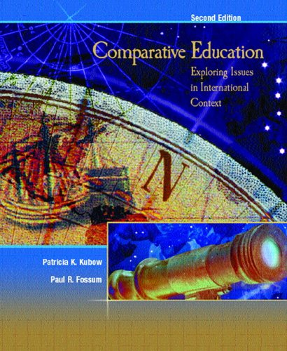Comparative Education: Exploring Issues in International...