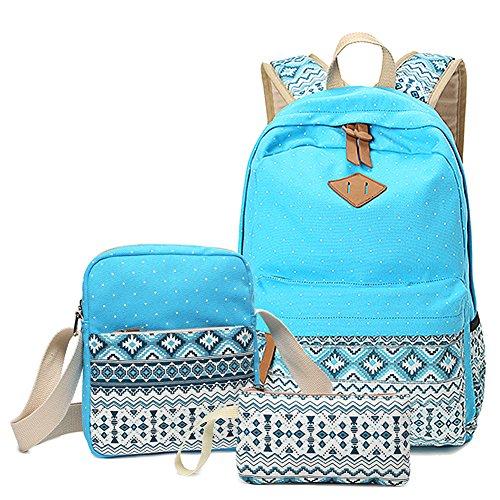 Abshoo Canvas Dot Backpack