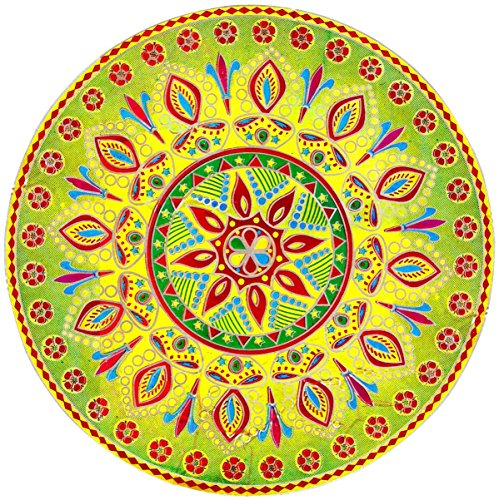 Diwali Rangoli Sticker (9.25in dia)