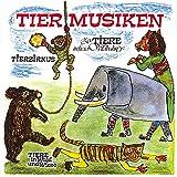 Tiermusiken: Fidula-CD mit 18 Titeln: Elefant /Affen /Pferde /Tanzbär /Tiger /Maus /Hase /Fuchs /Vögel /Reh /Marabu /Pinguin /Kamel /Löwe /Krokodil & ... in freier Wildbahn. Mit Noten und Texten