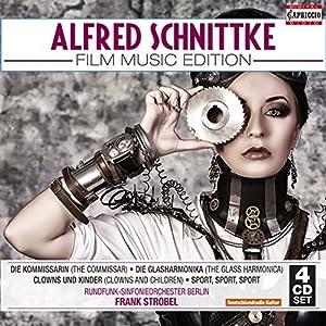 Schnittke:Film Music Edition [Frank Strobel, Rundfunk-Sinfonieorchester Berlin] [CAPRICCIO: C7196] from CAPRICCIO