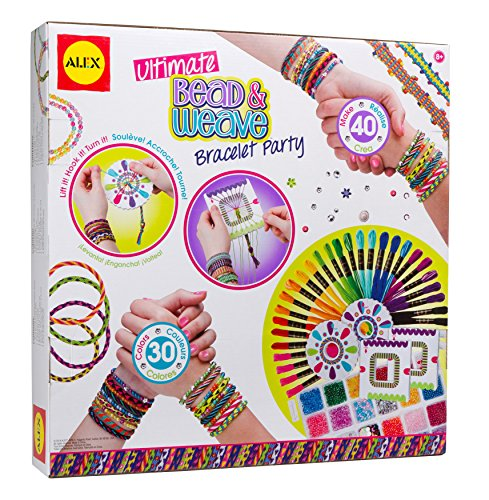 ALEX Toys DIY Wear Ultimate Bead And Weave Bracelet Party