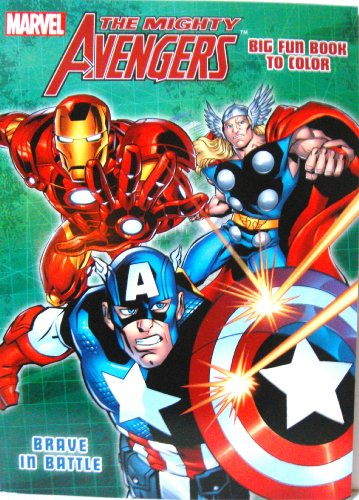 The Mighty Avengers Coloring Book (Brave in Battle) by Dalmatian Press