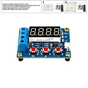 1.2v 12v ZB2L3 18650 Li-ion Lithium Battery Capacity Tester + Resistance Lead-acid Battery Capacity Meter Discharge Tester