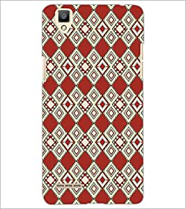 PrintDhaba Pattern D-5108 Back Case Cover for OPPO F1 (Multi-Coloured)