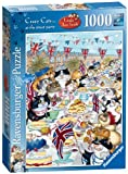Ravensburger Crazy Cats at The Street Party Puzzle (1000 Pieces)
