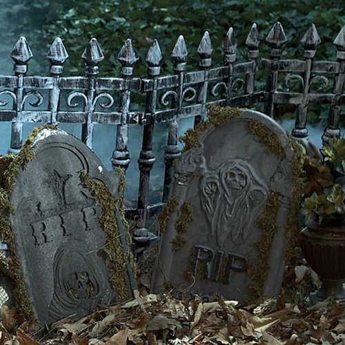 Cemetery Fence Prop