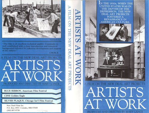 Artists At Work : The New Deal Art Projects