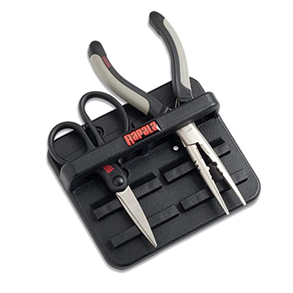 Rapala Magnetic Tool Holder (Two Place), Black (Color: Black)