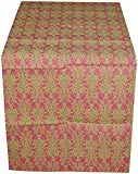 CPM Handlooms Cotton Table Runner - Pink