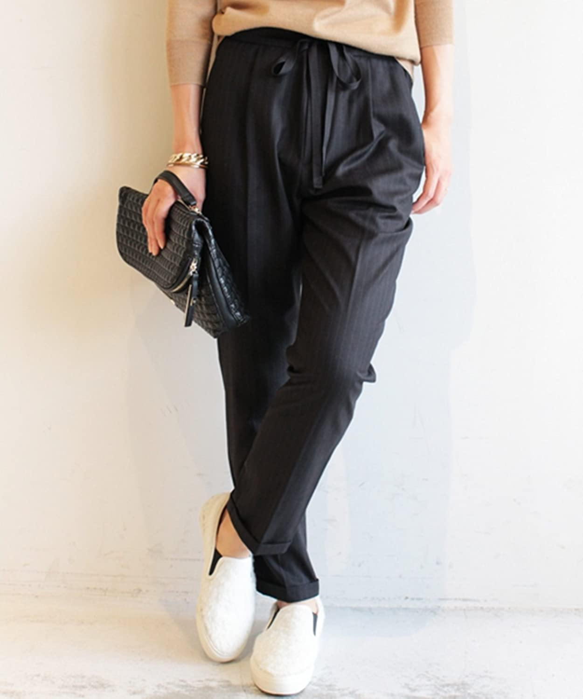 Amazon.co.jp: (ビューティーアンドユースユナイテッドアローズ) BEAUTY&YOUTH UNITED ARROWS by ※∵ストライプテーパードイージーパンツ: 服&ファッション小物通販