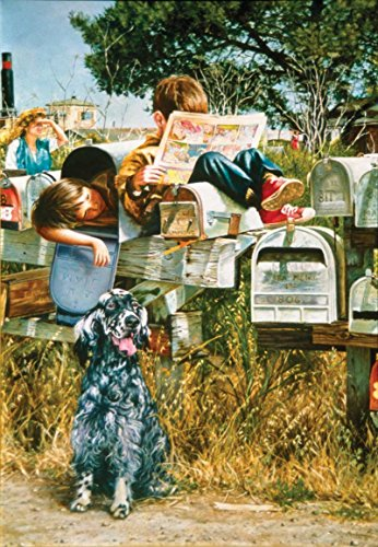 Waiting for the Mailman a 500-Piece Jigsaw Puzzle by Sunsout Inc.