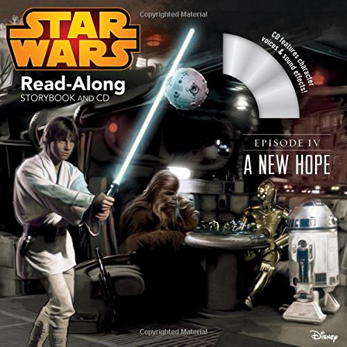 Star Wars: A New Hope Read-Along Storybook and CD