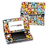 Disney Friends Design Decorative Protector Skin Decal Sticker for Nintendo 3DS Portable Game Device