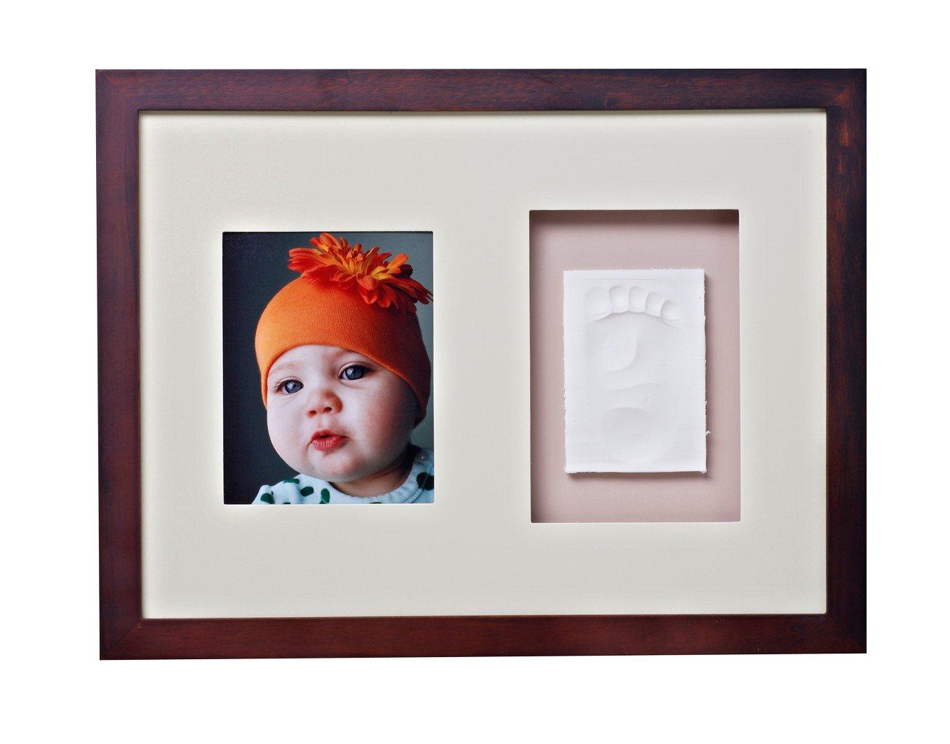 Baby Memory Prints Wall Frame (Mahogany)