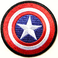 Captain America The First Avenger Shield Marvel Superhero Cartoon Logo Kid Baby Boy Jacket T shirt Patch Sew Iron on Embroidered Symbol Badge Cloth Sign Costume By Prinya Shop from PRINYA SHOP