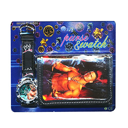 Wwe Toys For Boys Christmas : Wwe children s watch wallet set for kids boys