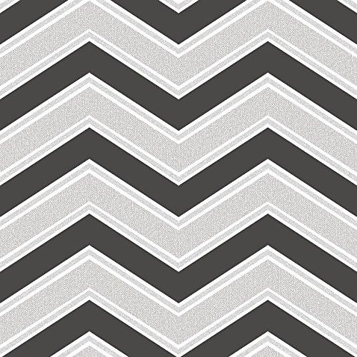 coloroll-negro-y-gris-chevron-zigzag-papel-pintado-m1147-moderno-caracteristica-diseno-contemporaneo