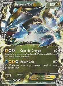 Nintendo carte pok mon kyurem noir ex holo reverse bw62 - Carte pokemon kyurem blanc ex ...