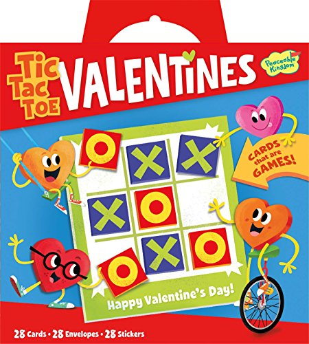 Valentine Tic Tac Toe - valentine day games for kids
