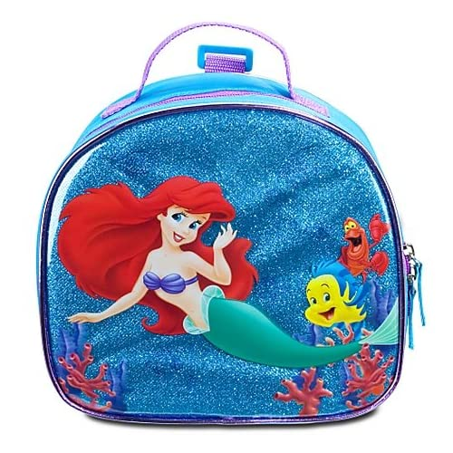 Amazon.com: Ariel and Friends Glitter Lunch Box Tote Bag
