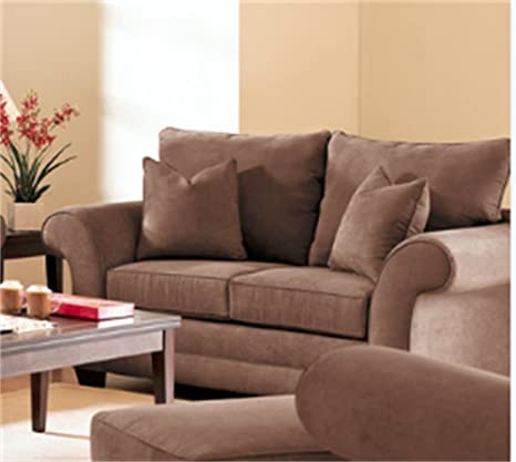 Klaussner HOLLY Loveseat, Java