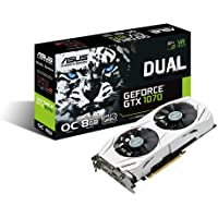 Asus GeForce GTX 1070 DUAL-GTX1070-O8G 8GB 256-Bit Video Card + ASUS Gift Assassin's Creed Origins