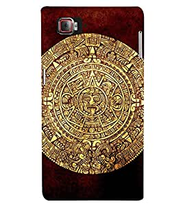 EPICCASE golden mayan Mobile Back Case Cover For Lenovo Vibe Z2 Pro K920 (Designer Case)