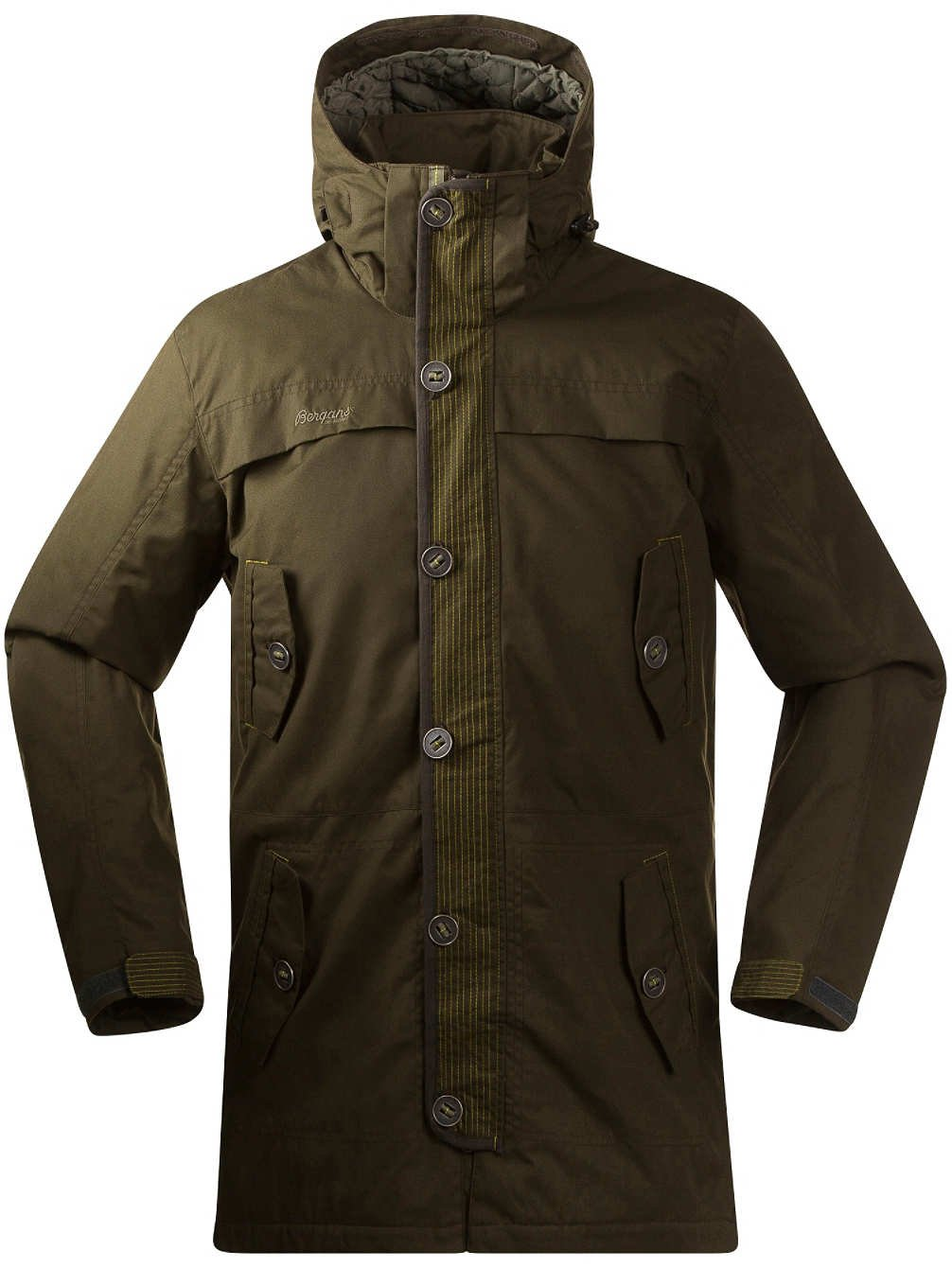 Bergans Harstad Insulated Jacket Herren Winterjacke, dark olive online bestellen