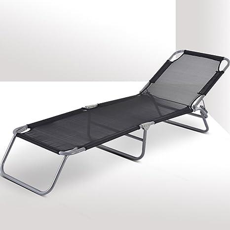 Camas para dormir Camilla de oficina Cama de cama individual Ocio Silla de playa plegable Silla de almuerzo