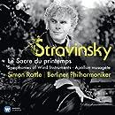 Stravinsky : Le Sacre du printemps, Symphonies pour instruments à vent, Apollon Musagète