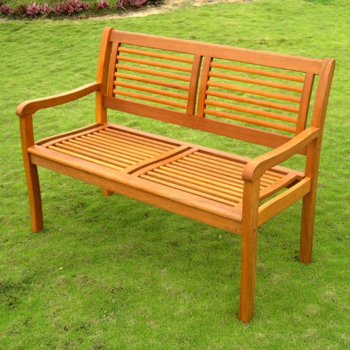 Royal Tahiti Bar Harbor 2-Seater Outdoor Bench